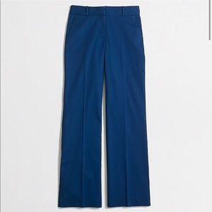 J. Crew factory navy cotton trouser pants size 00